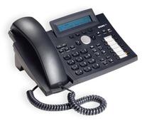 SNOM 320 VoIP black without power supply datortīklu aksesuārs