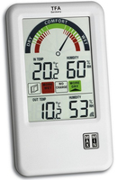 TFA 30.3045.IT BEL-AIR radio thermo hygrometer barometrs, termometrs