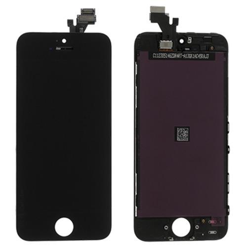 Apple Iphone 5 LCD + touchscreen black REZD_TS-Iphone 5,b aksesuārs