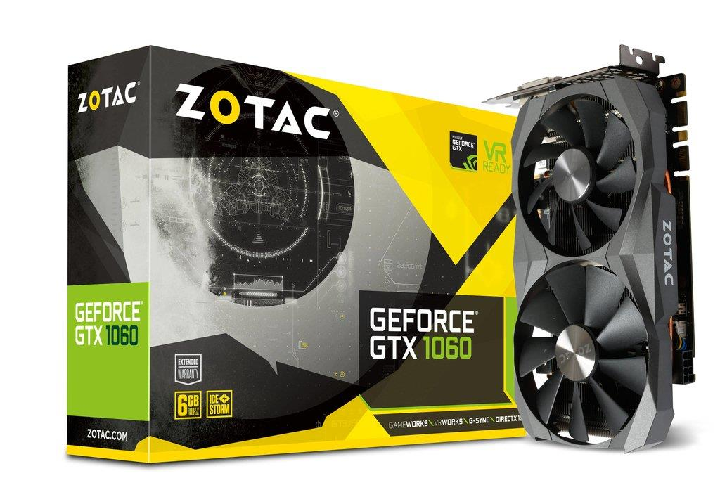 ZOTAC GeForce GTX 1060 6GB Grafikkarte video karte