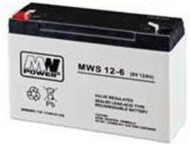 MN POWER Pb 6V 12Ah (MN/6V-12AH) Radiovadāmā rotaļlieta