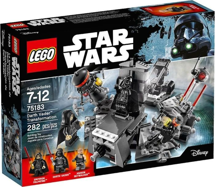 LEGO Star Wars 75183 Darth Vader Transformation LEGO konstruktors