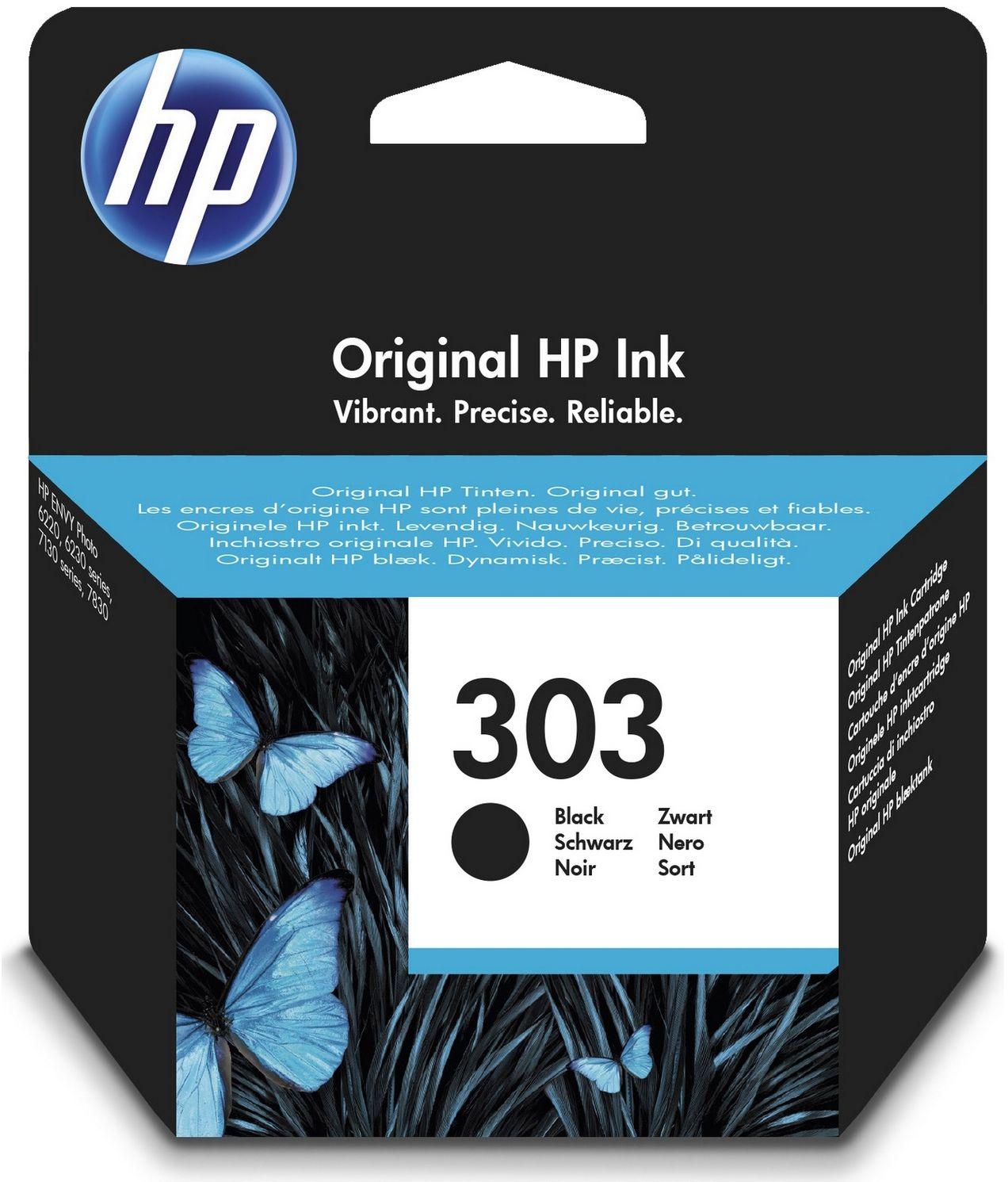 HP 303 Black Ink Cartridge