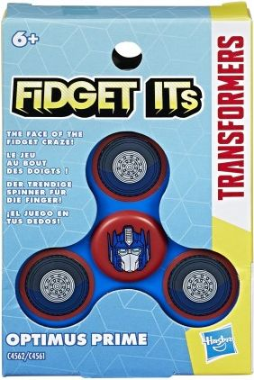 Transformers Fidget Optimus Prime Fidget spinner