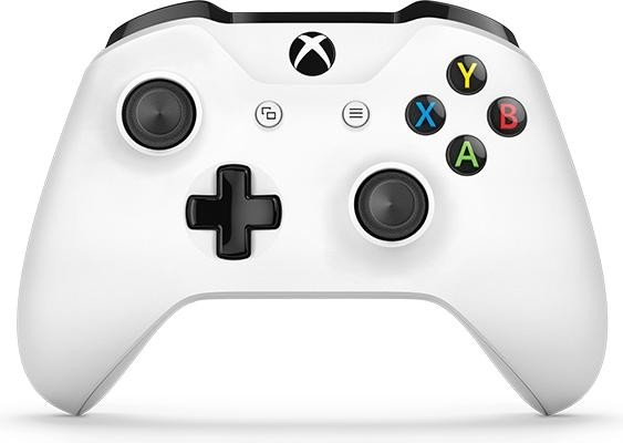 Microsoft Xbox ONE S Wireless Controller - White spēļu konsoles gampad