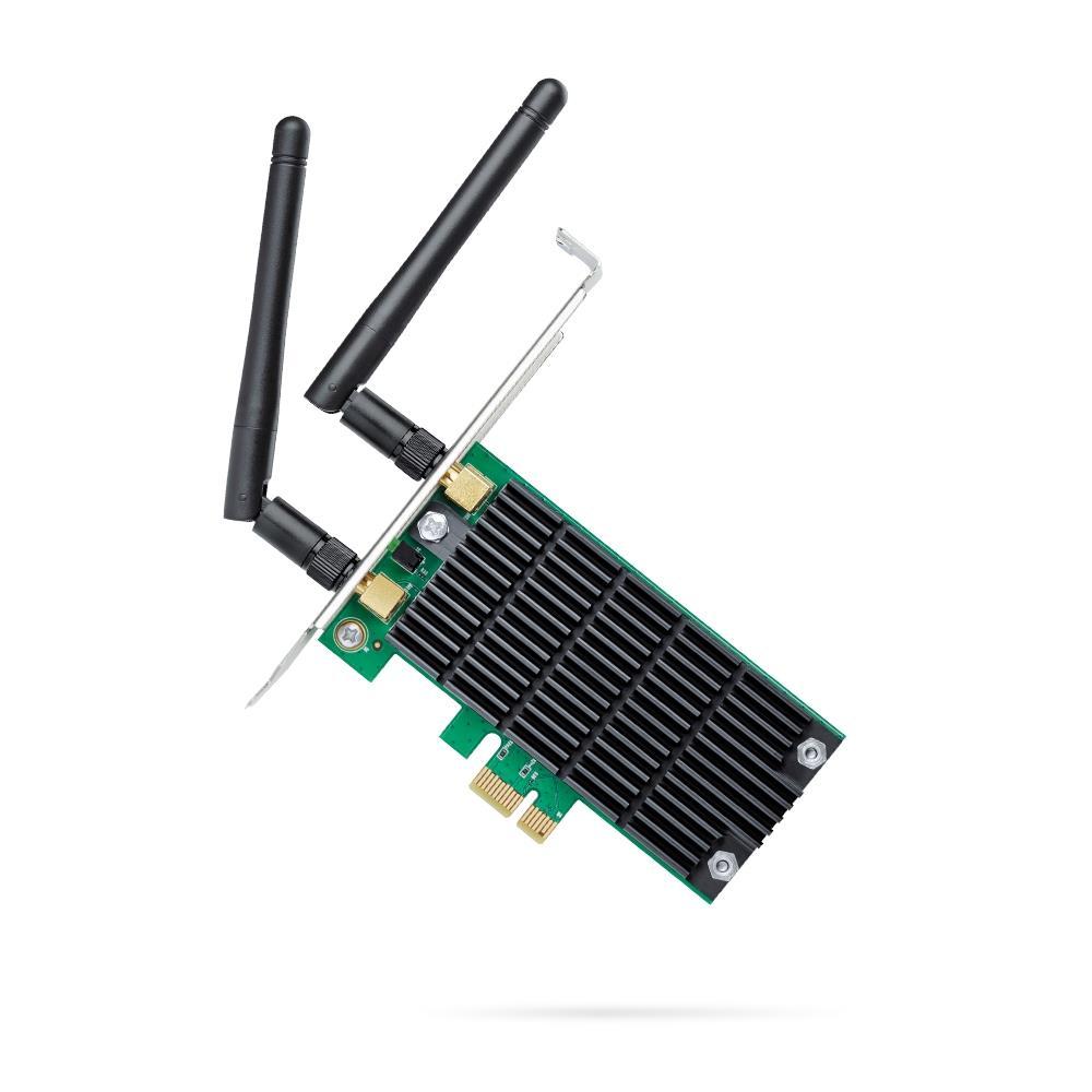TP-Link Archer T4E AC1200 Wi-Fi PCI ExpressAdapter867Mbps (5GHz)+300Mbps(2.4GHz) tīkla karte