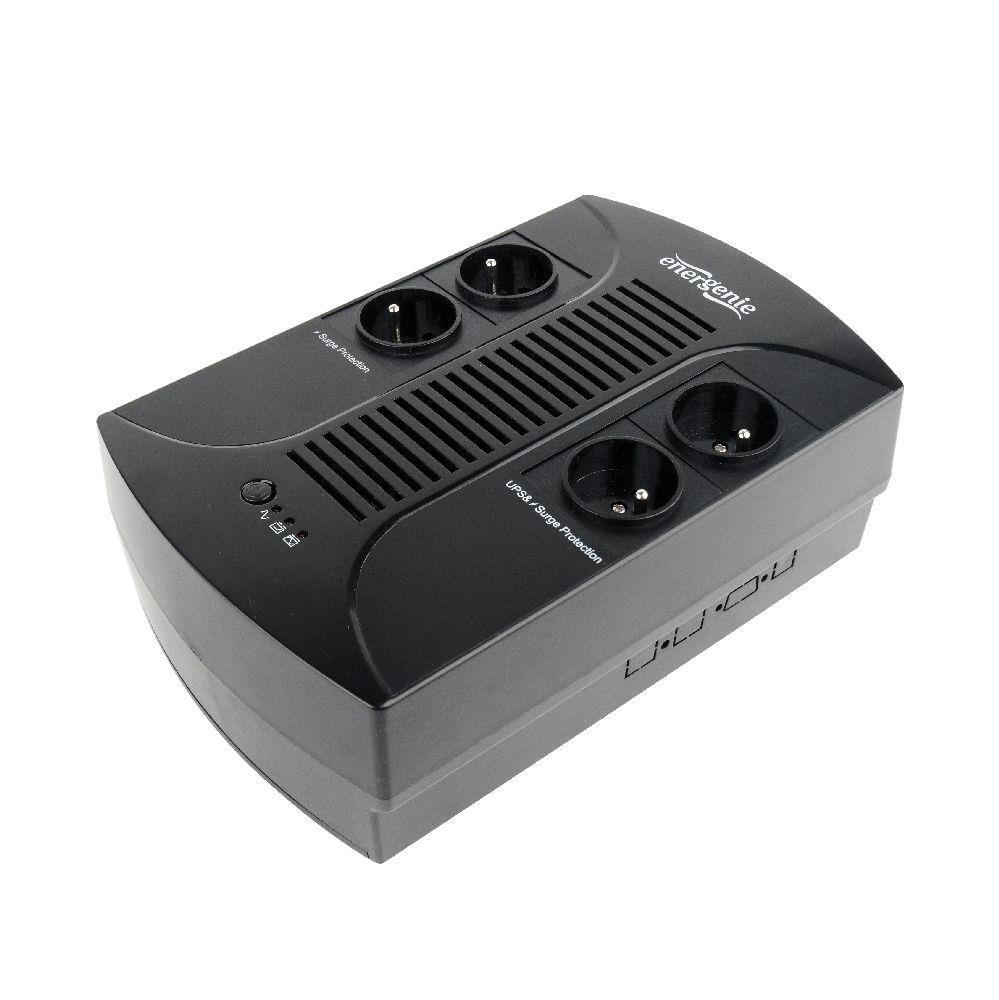 Power supply uninterruptible UPS ENERGENIE Floor Power Cube EG-UPSF-01 (Desktop, TWR; 650 VA) EG-UPSF-01 nepārtrauktas barošanas avots UPS