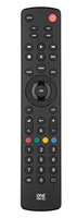 Universal remote for 4 devices for all TVs and tuners pults