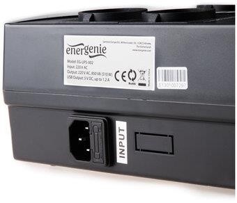 Power supply uninterruptible UPS ENERGENIE Floor Power Cube EG-UPS-001 (Desktop, TWR; 650VA) EG-UPS-001 nepārtrauktas barošanas avots UPS