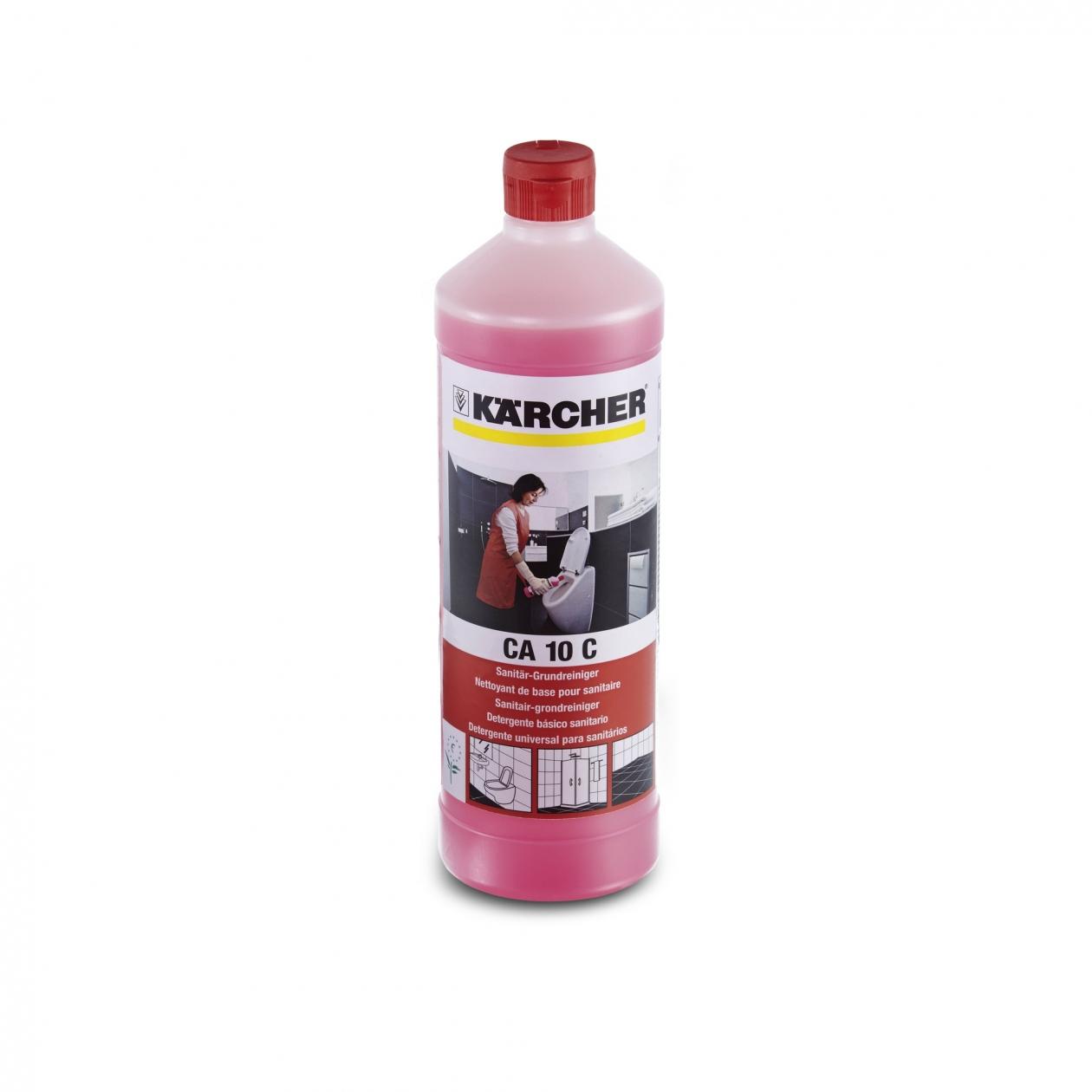 Karcher Preparat CA 10 C do mycia sanitariow 1L (6.295-677.0) tīrīšanas līdzeklis