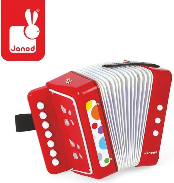 Janod Akordeon Confetti, Janod - J07620 J07620