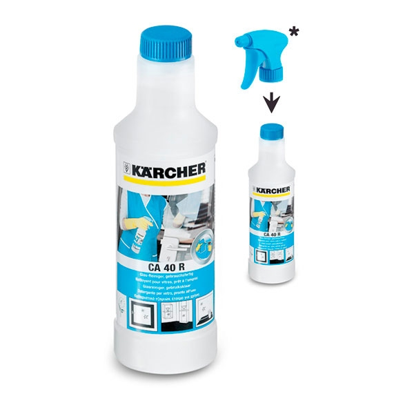 Karcher Preparat CA 40R do mycia szkla 0,5L (6.295-687.0) tīrīšanas līdzeklis