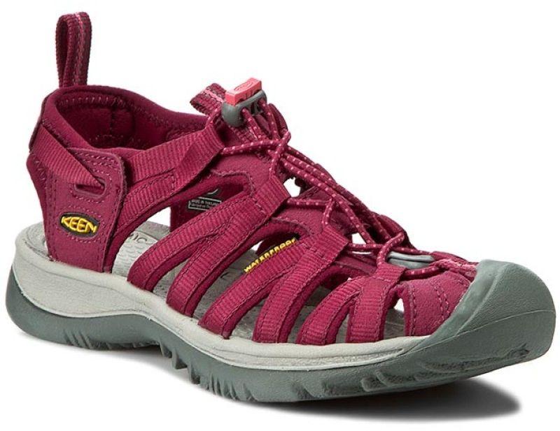 Keen Women's Sandals Whisper Beet Red / Honeysuckle size 37.5 (1012229)