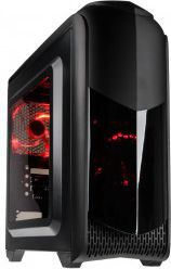 Kolink Aviator M Micro-ATX Gehause - black Window Datora korpuss