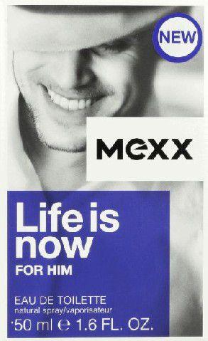 Mexx Man Life Is Now EDT   50ml 82465823 Vīriešu Smaržas
