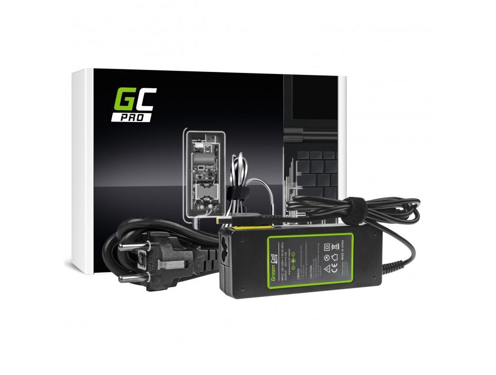 Green Cell PRO 20V 4.5A 90W for Lenovo G500s G505s G510 G510s Z500 Z510 Z710 Z51 Z51-70 ThinkPad X1 Carbon portatīvo datoru lādētājs