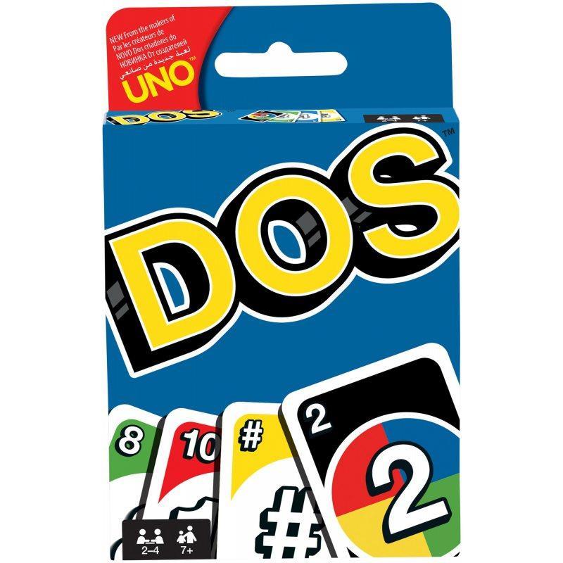 Mattel Card game UNO DOS galda spēle