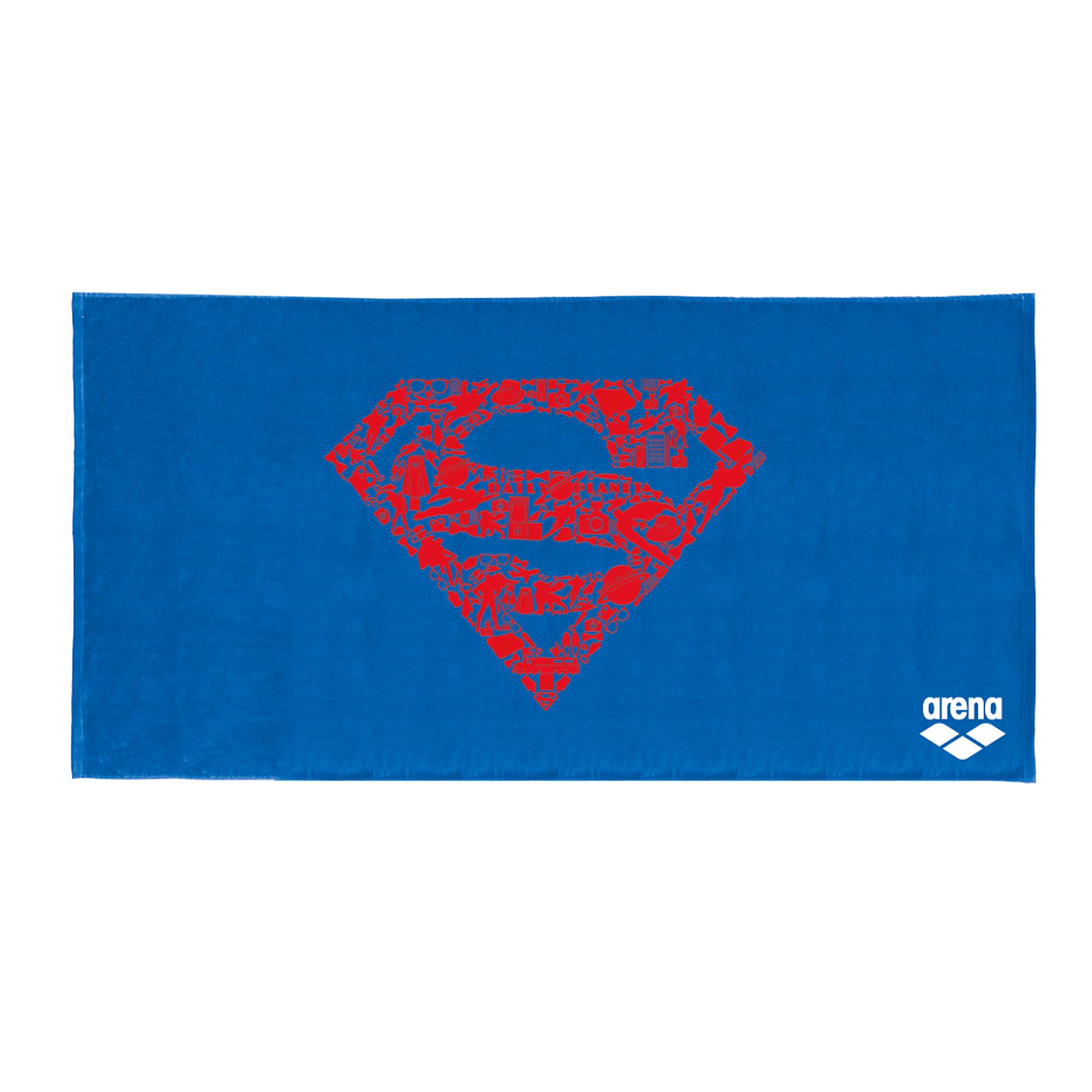 Towel Arena Super Hero Superman 001545/700 (100x150 cm; blue color) 001545/700