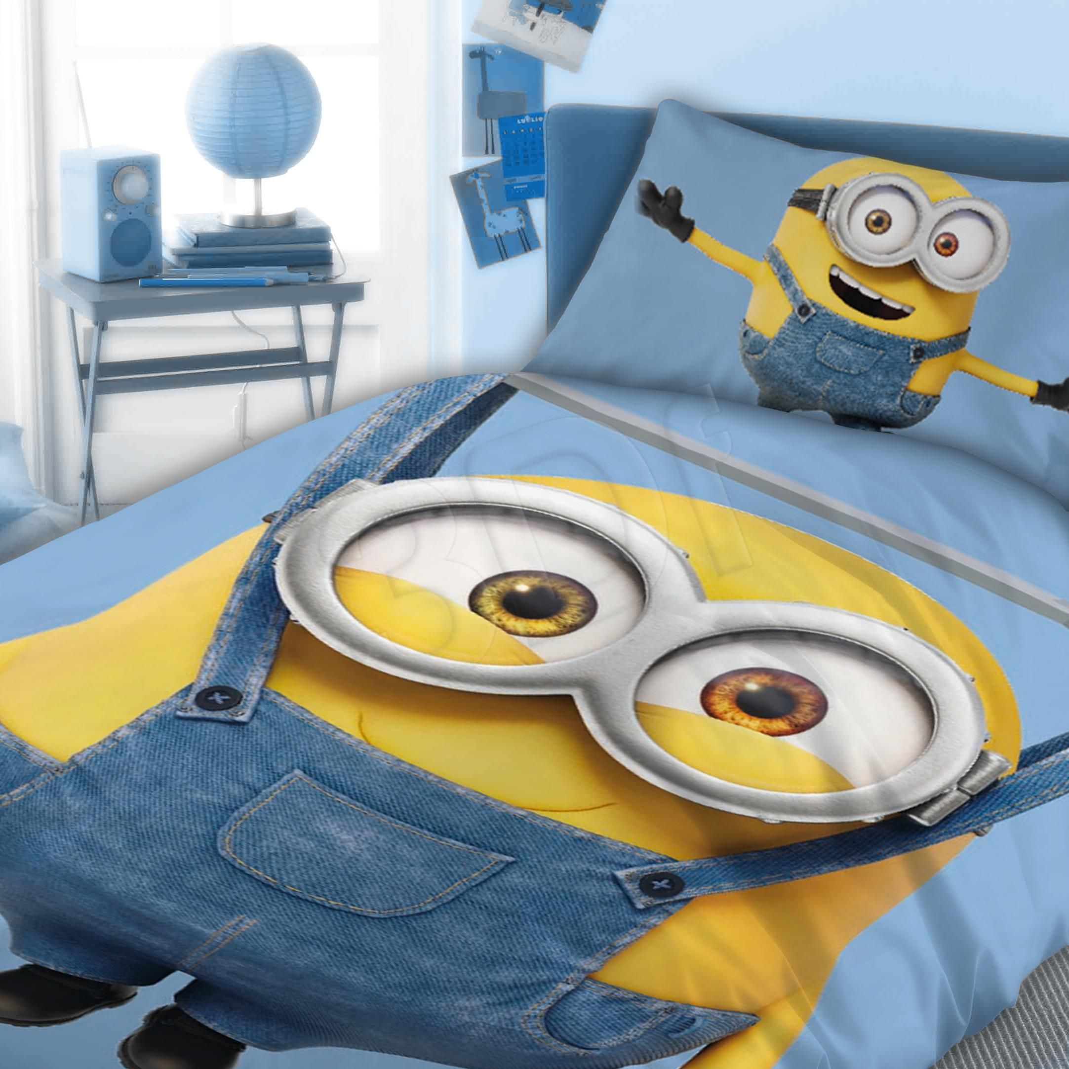 Bed linen Faro  FAO064 (140x200 cm, 70x90 cm; blue color, yellow color) FAO064 Gultas veļa