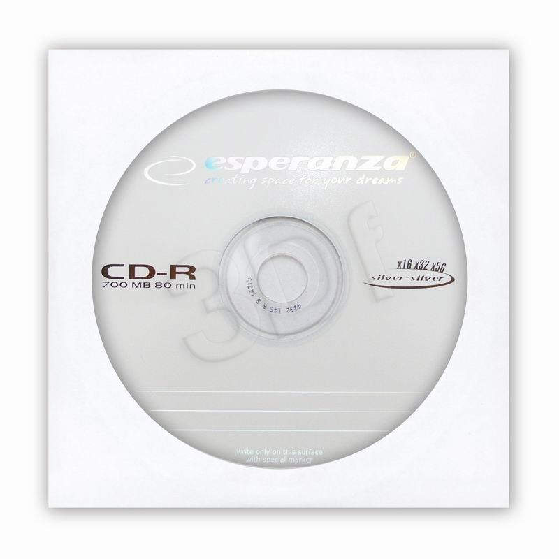 SILVER CD-R x56 KOPERTA 1 matricas