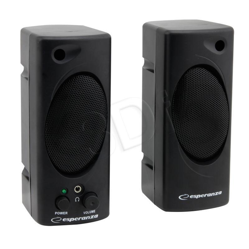 ESPERANZA Speakers 2.0 Tempo EP109 - 2 x 1W datoru skaļruņi