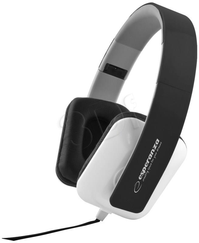 ESPERANZA Audio Stereo Headphones with volume control EH137K | 3m austiņas