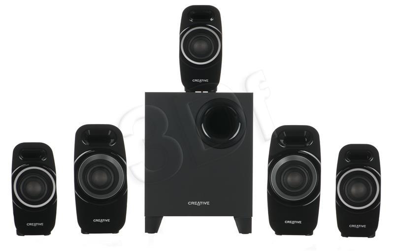 CREATIVE Inspire T6300 5.1 Speaker datoru skaļruņi