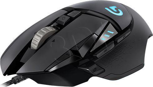 Logitech G502 Gaming Mouse Corded, Spectrum RGB Datora pele