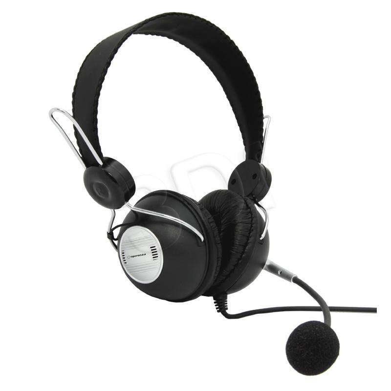 ESPERANZA Stereo Headset with microphone and volume control EH117 austiņas