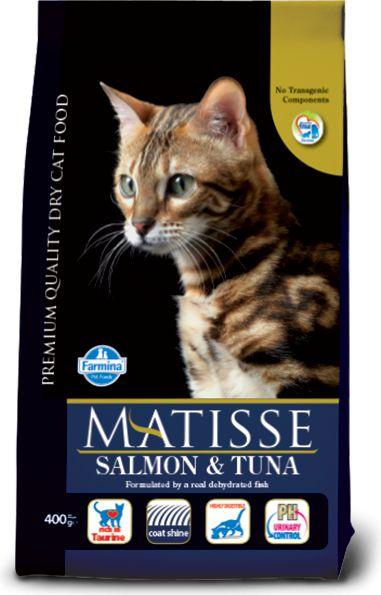 FARMINA PET FOODS Matisse - Salmon and tuna 1.5 kg kaķu barība