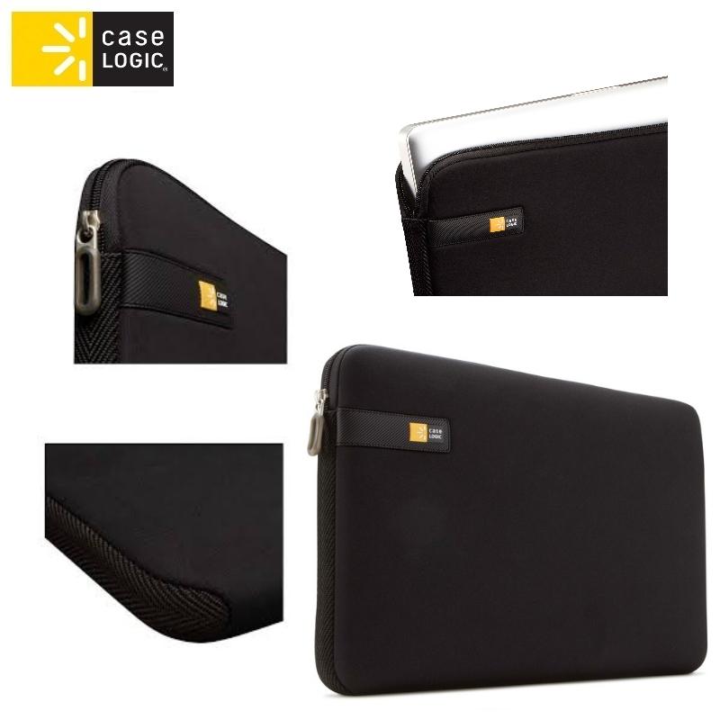 Case Logic LAPS116K universāla soma portatīvajam datoram līd portatīvo datoru soma, apvalks