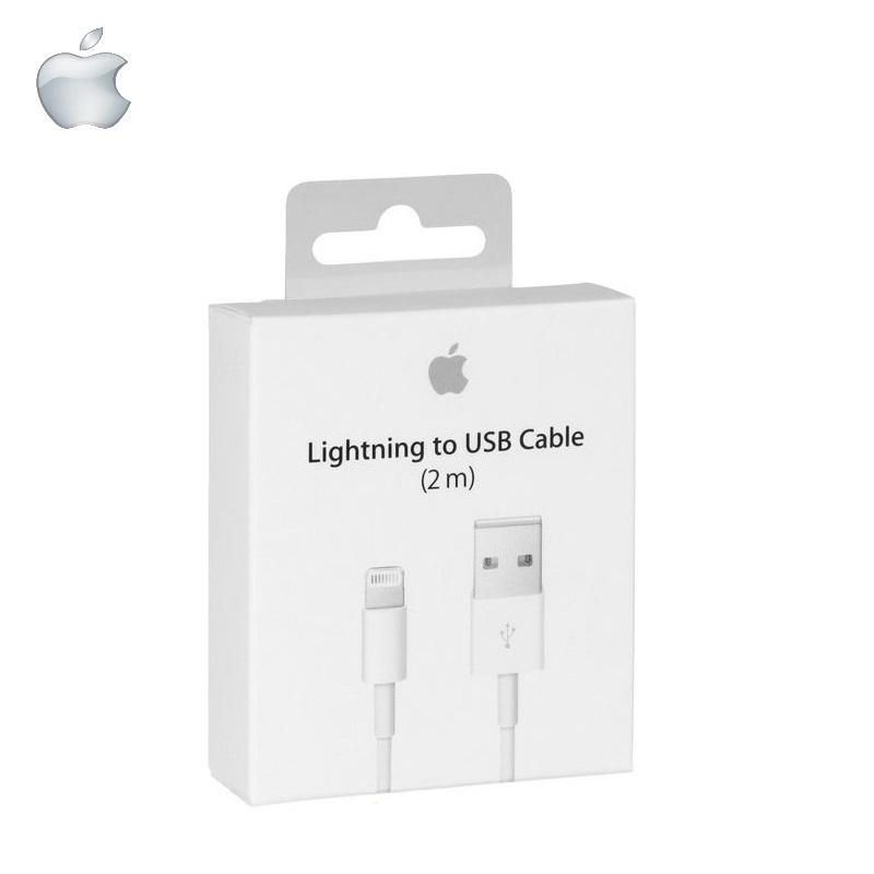Apple MD819ZM/A oriģināls USB Datu Kabelis iPhone 5 5C 5S / iPad 4 (OEM) aksesuārs mobilajiem telefoniem