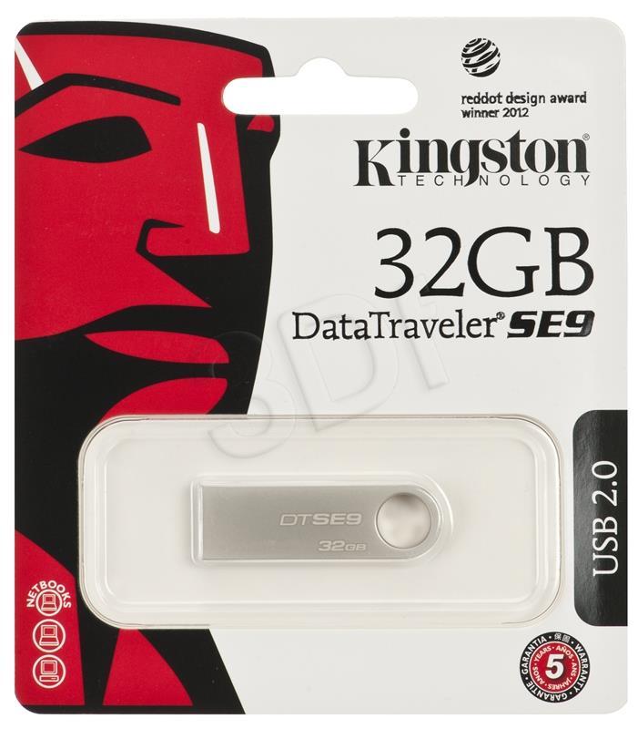 KINGSTON 32GB USB 2.0 Stick DT SE9 USB Flash atmiņa