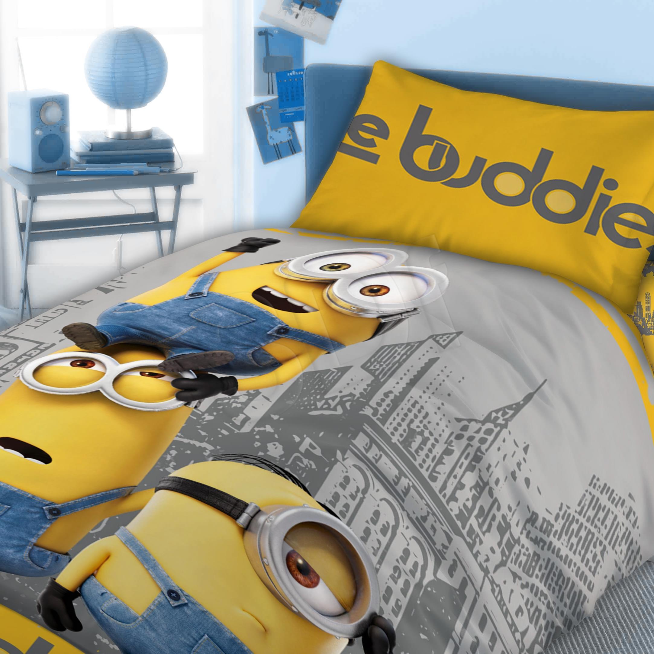 Bed linen Faro  FAO067 (140x200 cm, 70x90 cm; blue color, gray color, yellow color) FAO067 Gultas veļa