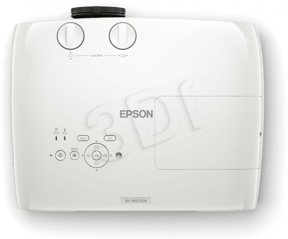 EPSON EH-TW6700W with HC lamp warranty projektors