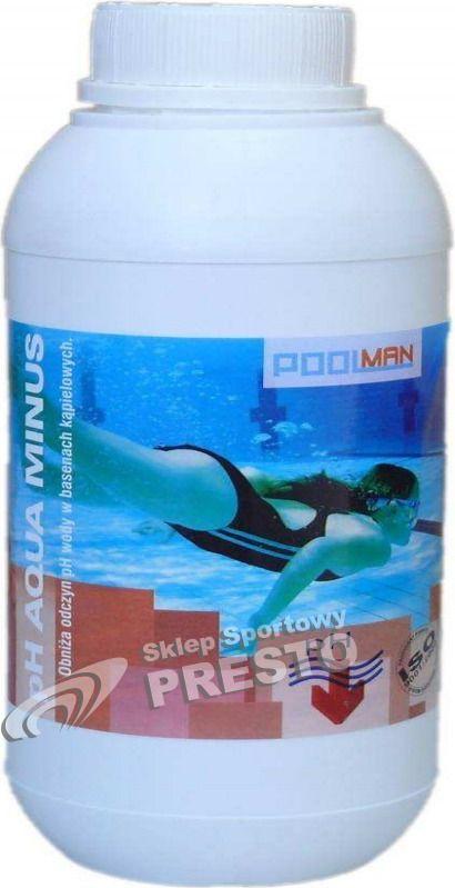 Poolman Preparat obnizajacy pH wody pH Aqua Minus Poolman  roz. uniw (004111) 004111