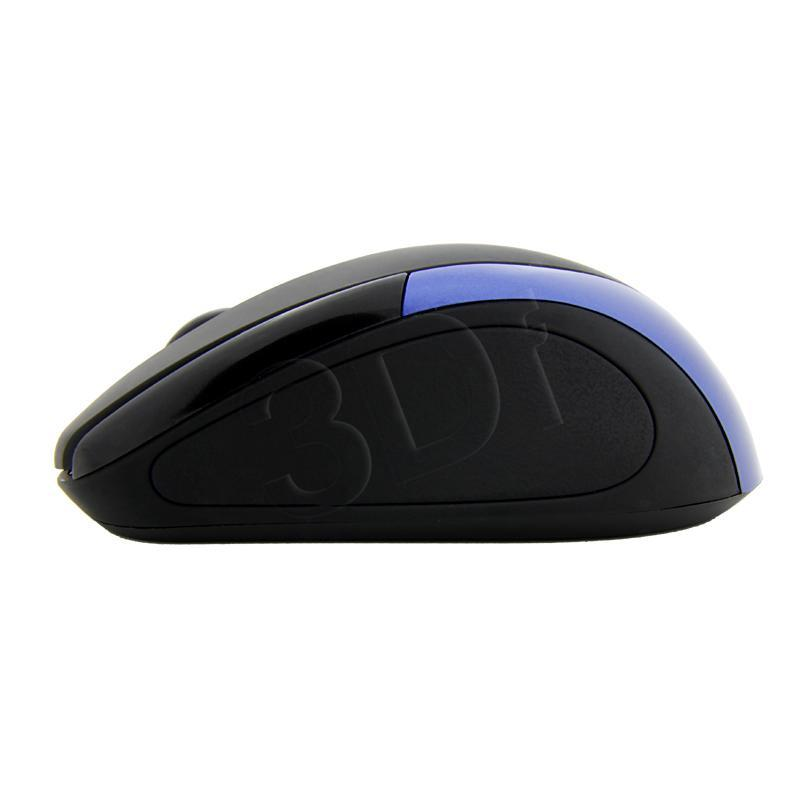 ESPERANZA Wireless Mouse Optical EM101K USB|NANO Output 2,4 GHz| blue Datora pele