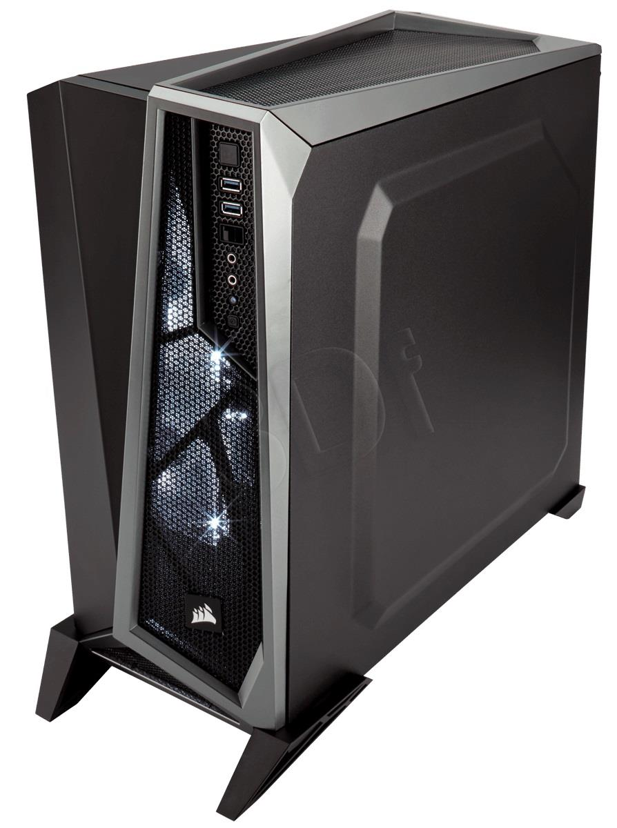 Corsair case Carbide Series SPEC-ALPHA,Atx,Micro Atx,Mini Itx,black&silver Datora korpuss