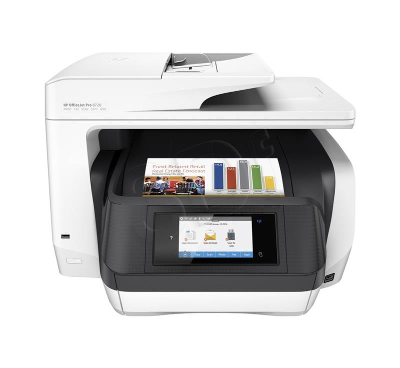 HP OfficeJet Pro 8720 printeris