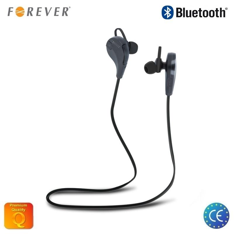 Forever BSH-100 Aktīv Sporta Bluetooth Bezvadu Stereo Austiņas ar Telefona Zvana Funkciju Melnas austiņas
