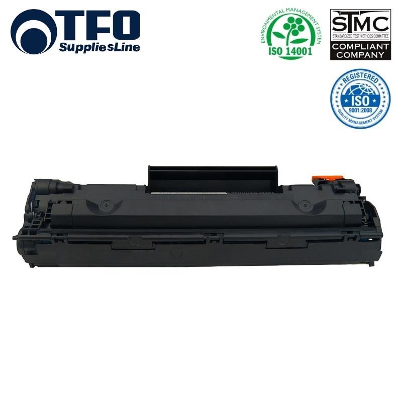 TFO HP CF283A Lāzedrukas kasete M225 M125A M127 M201dw M225dn 1.5K Lapas HQ Premium Analogs aksesuārs mobilajiem telefoniem