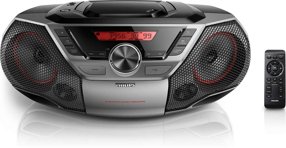 PHILIPS CD magnetola ar Bluetooth AZ 700T/12 magnetola