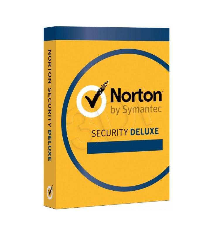 Symantec NORTON SECURITY DELUXE 3.0 1 USER 3D/12M ESD PL programmatūra