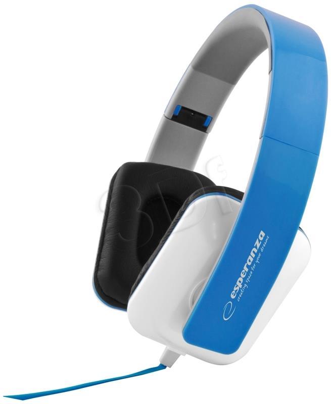 ESPERANZA Audio Stereo Headphones with volume control EH137B   3m austiņas