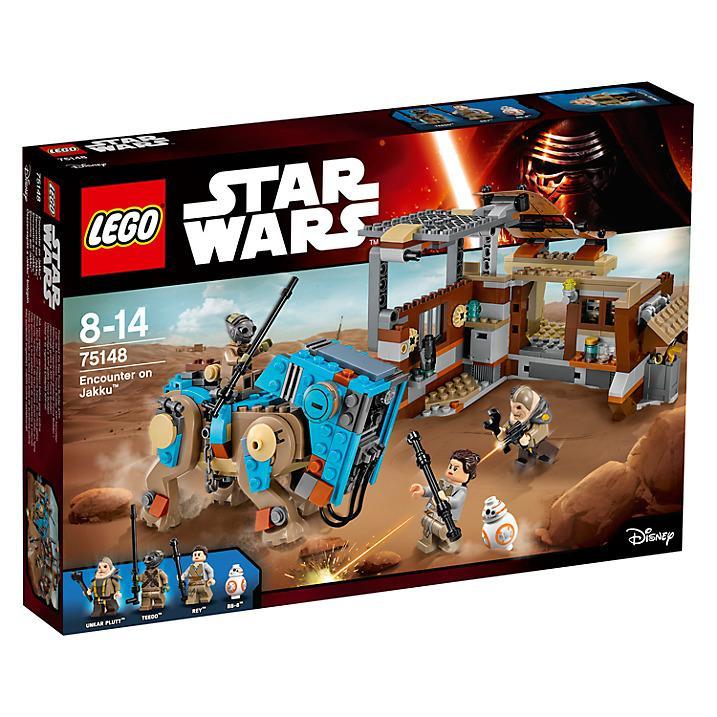 Lego Star Wars 75148 Encounter on Jakku LEGO konstruktors
