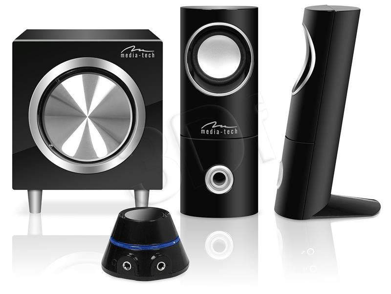 Media-tech SPEAKERS SET 2.1 - 3-channel speakers set datoru skaļruņi