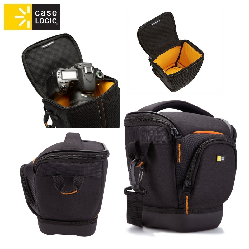 Case Logic SLRC200 SLR Camera Holster/ Nylon Woven/ Black/ F soma foto, video aksesuāriem