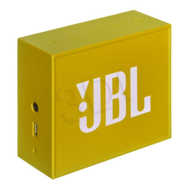 JBL GO Bluetooth Yellow pārnēsājamais skaļrunis