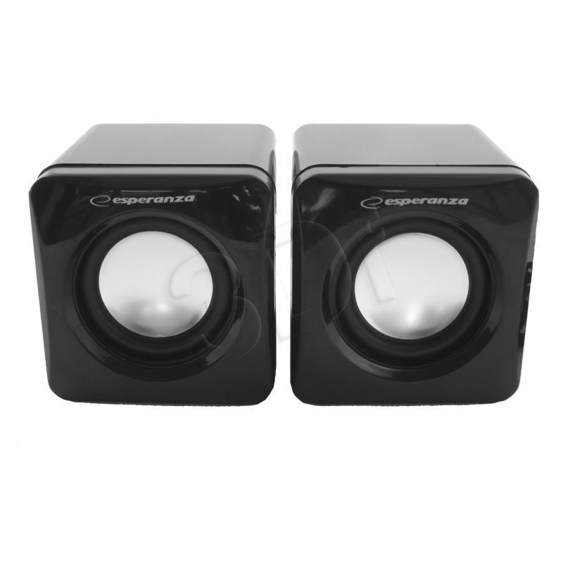 ESPERANZA Speakers 2.0 Leggiero EP111 Cube USB - 2 x 3W datoru skaļruņi