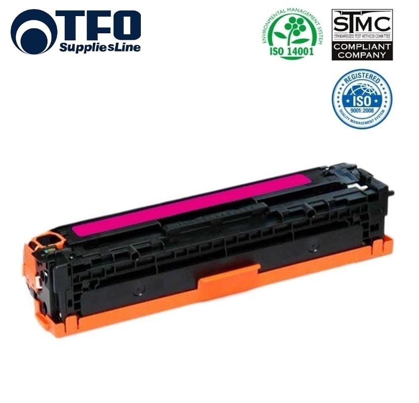 TFO HP 410A CF413A Sarkana Lāzedrukas kasete priekš M477fdw M377dw M452dn 2.3K Lapas HQ Premium Analogs aksesuārs mobilajiem telefoniem